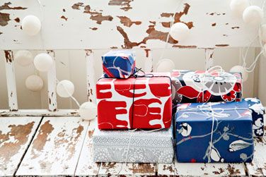 Christmas gift wraps (2012).