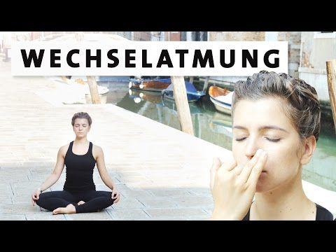 Yoga Wechselatmung für Anfänger - für Konzentration, Innere Balance & gegen Stress, Kopfschmerzen - YouTube
