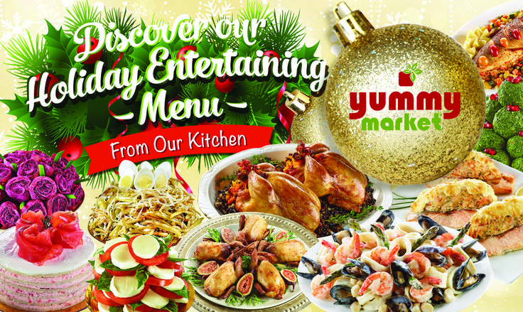 This holiday season, treat your guests--and yourself-- to a scrumptious multiple-course feast. See our menu: http://yummymarket.com/wp-content/uploads/YummyMarket_Holiday_Menu.pdf