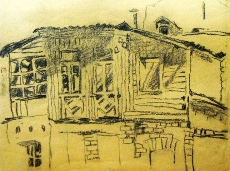 sketches by Zorina Getman (charcoal)