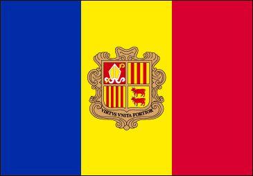 Bandera de Andorra (#Flag of #Andorra)