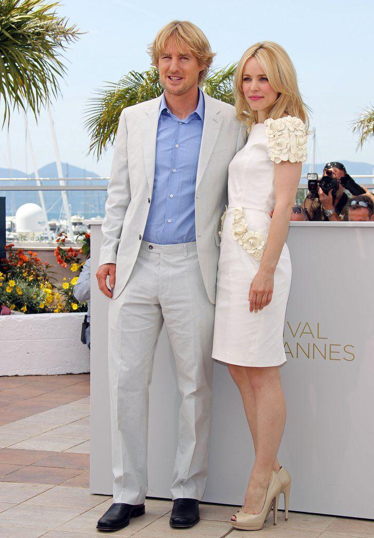 Pin for Later: Retour Sur Les Moments Les Plus Glamour du Festival de Cannes Owen Wilson et Rachel McAdams à un photocall pour Midnight in Paris en 2011.