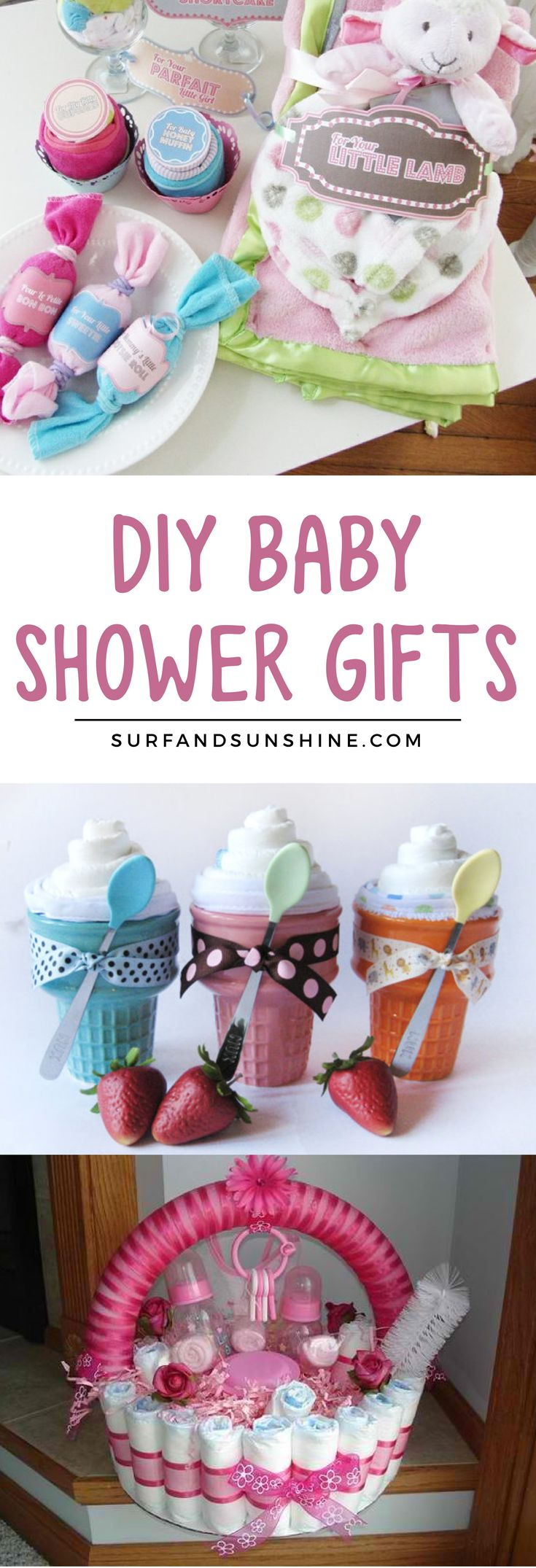 6 Unique DIY Baby Shower Gifts for Boys and Girls via @jeanabeena