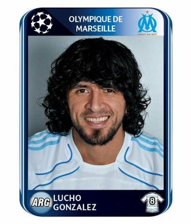 Olimpique de Marseille - Lucho Gonzalez