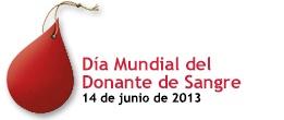 Día Mundial del Donante de Sangre 2013