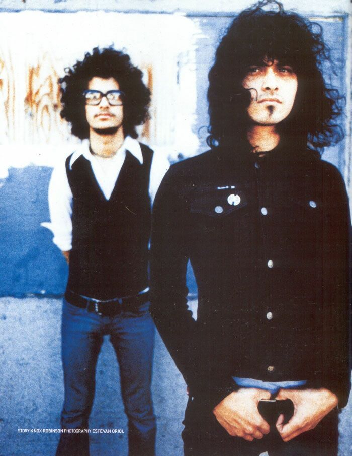 R.I.P. The Mars Volta *cries* DX They broke up!