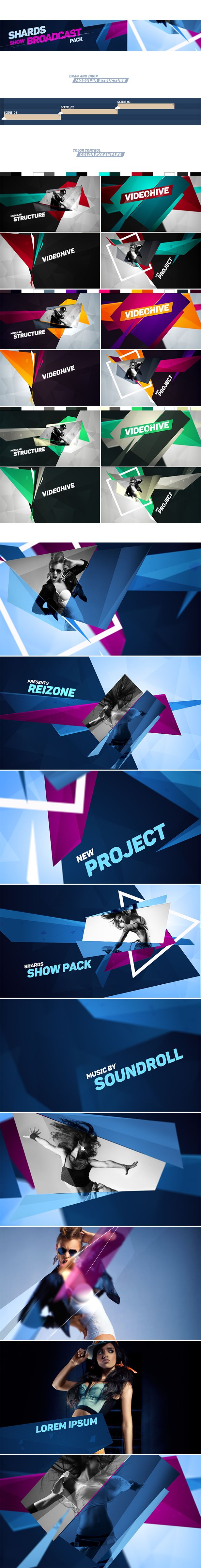 Shards Show Pack - After Effects Project Files | VideoHive