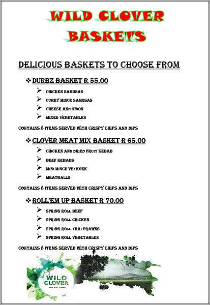 We are now offering delicious baskets at our Country Restaurant! Join us today for wholesome food.