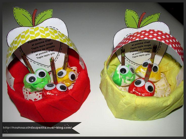 .. Pomme de reinette et pomme d'api ..