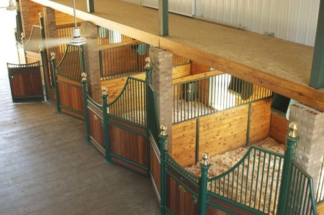 Horse Stall Fronts That Are Available For Barns