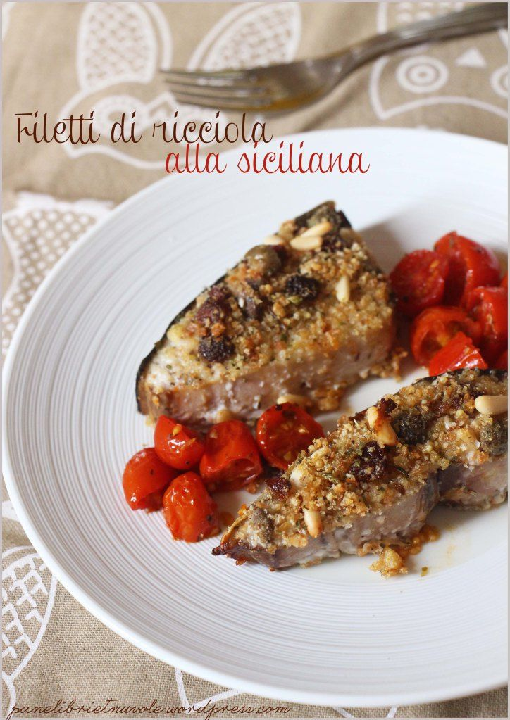 A delicious fish with olive oil, Pachino tomatoes, parsley, salt, red pepper and, of course, salted capers #food