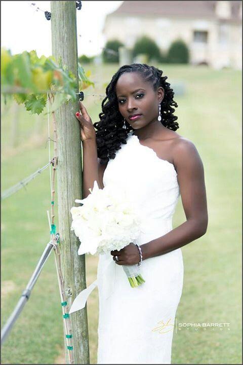 Beautiful bride with dreadlocks   I Like Locs   Pinterest