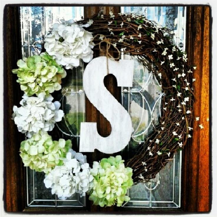 DIY wreath!