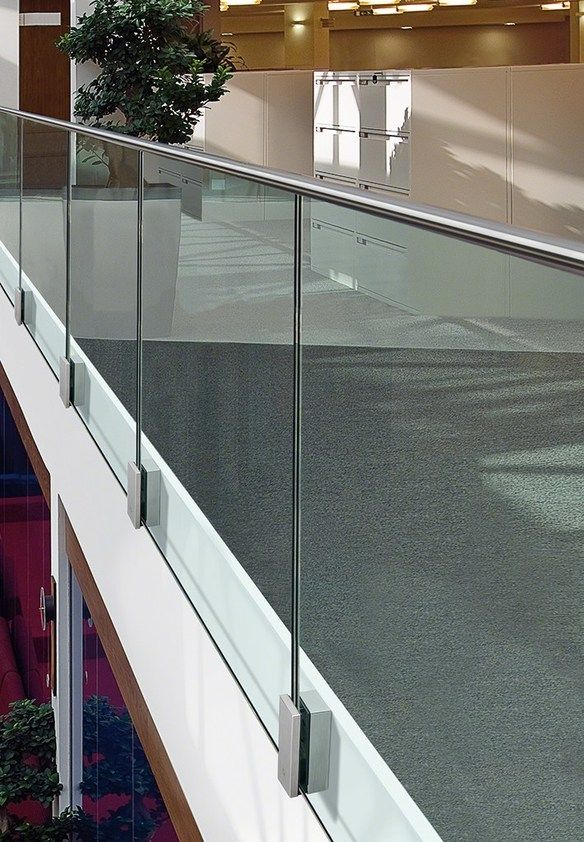 Stainless steel balustrade EASY GLASS® MOD 0763 by Q-RAILING ITALIA