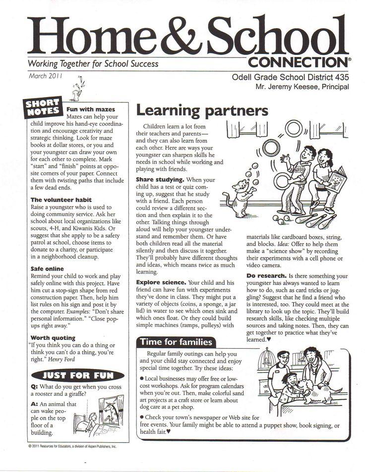 March School Newsletter Templates