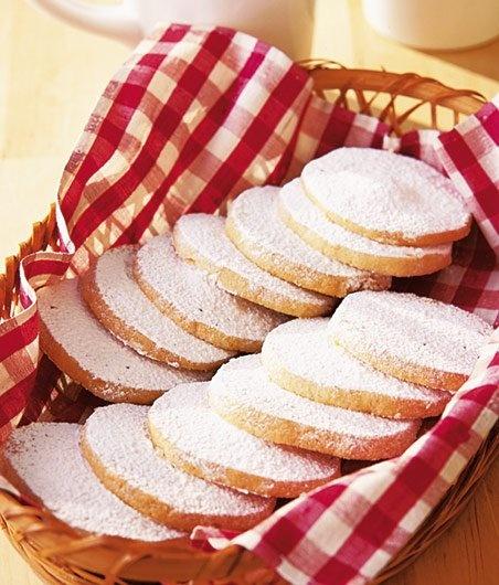 Czech shortbread is known as susenky or cukrovi.