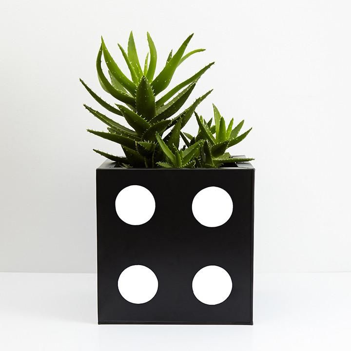 DICE Planter Medium White