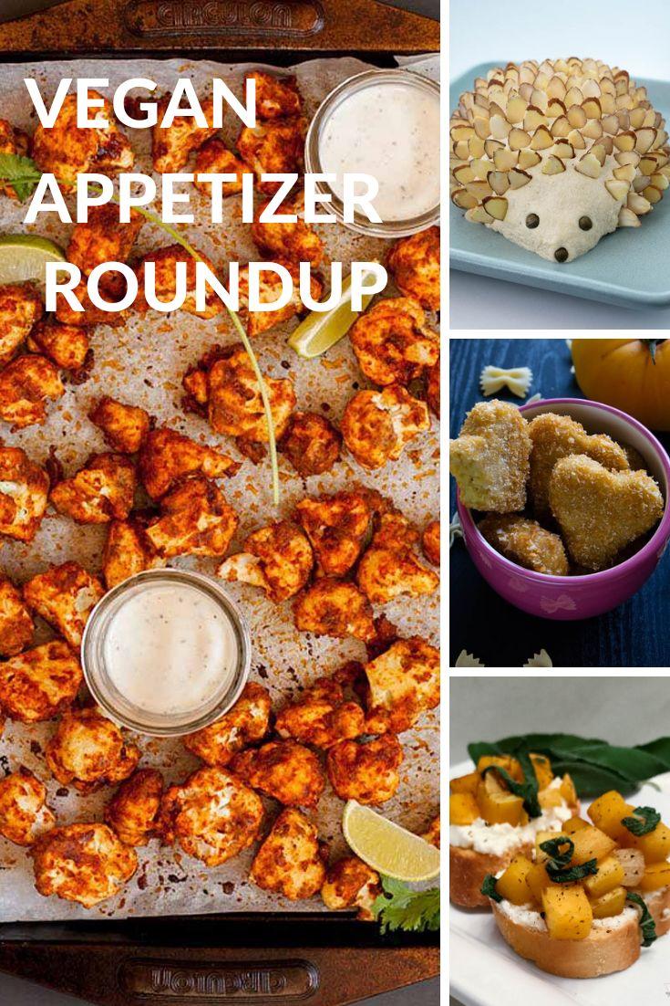 Vegan Appetizer Roundup