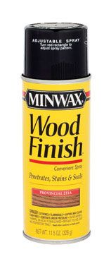 Spray Stains : Minwax Spray Stain
