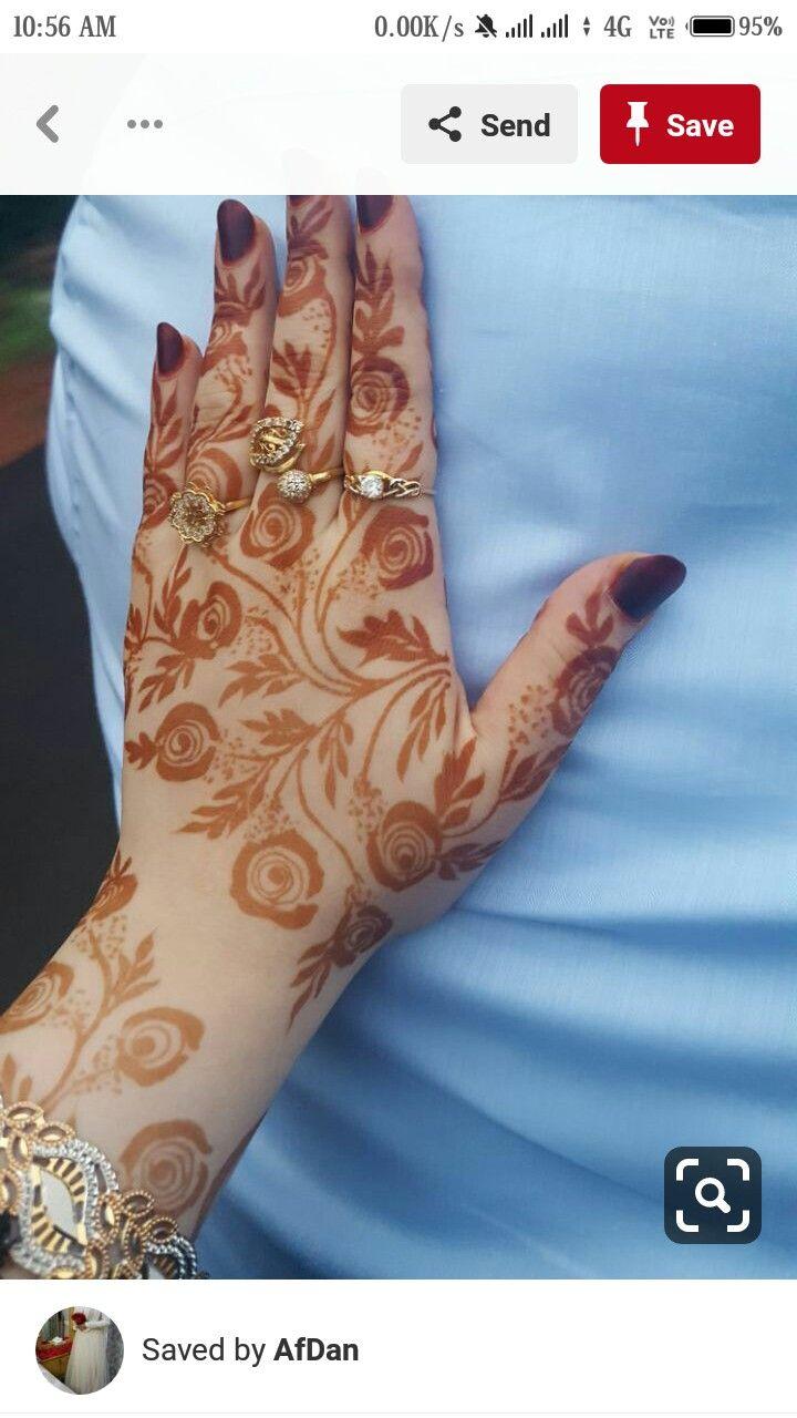 Pin By Rasha Khanam On Mehndi Rose Mehndi Designs Unique Mehndi Designs Floral Henna Designs