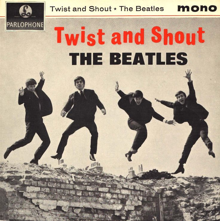 "The Beatles ""Twist and Shout"" EP (1964) Photography by Fiona Adams"