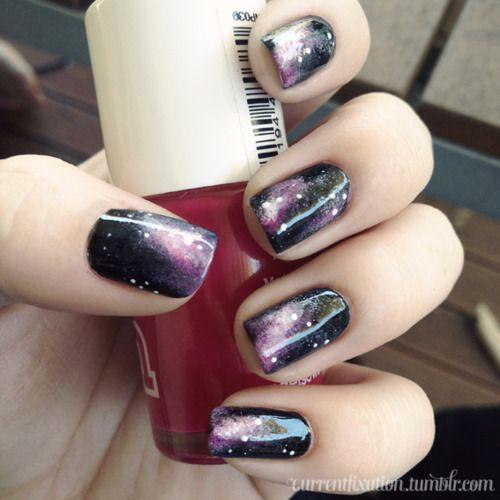 Nebula: Nails Nails, Nails Art, Nails Nailart, Meaning Nails, Galaxy Nails, Art Nails, Art Galaxies, Galaxies Nails, Nails Thoughts