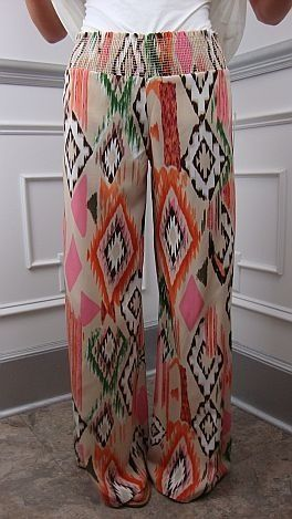 Aztec Pants...Feel The Breeze Of Summer!