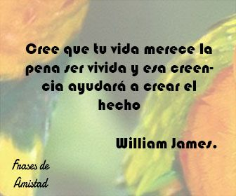 Frases Filosoficas De William James Frases De Amor