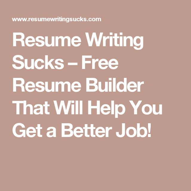 25+ beste ideeën over My resume builder op Pinterest - Cv en Cv tips - got free resume builder
