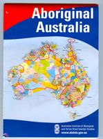 Aboriginal Australia Wall Map  Large Folded (120cm x 85cm) Small Folded (85cm x 60cm) Price:- Large - $33.00 Small - $17.00