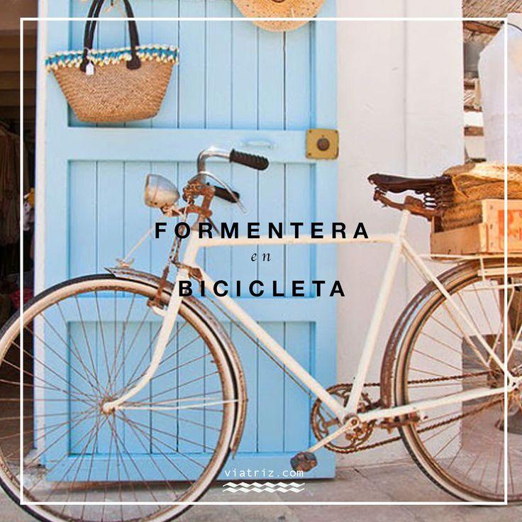Circuitos verdes de Formentera en bicicleta. Mapa y folleto gratuito completo en pdf de los 20 caminos y excursiones para recorrer la isla.