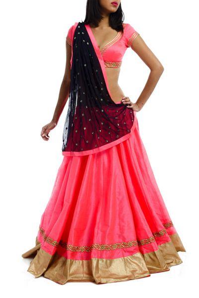 Chaniya Choli in pink