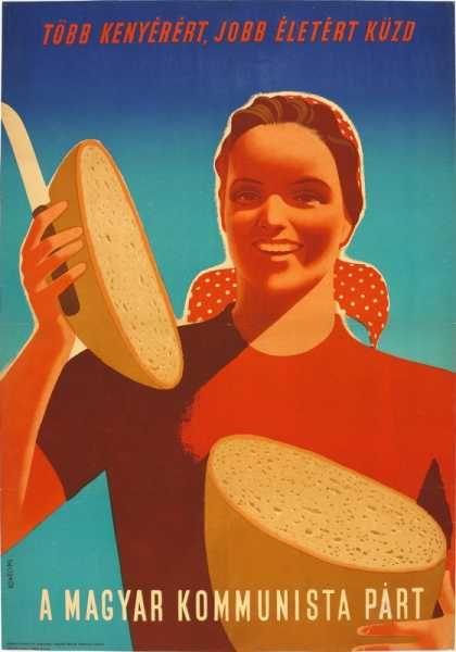 Több kenyérért, jobb életért küzd a Magyar Kommunista Párt