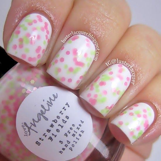 Strawberry Fields - by Love, Angeline Photo Credit: http://lusterlacquer.blogspot.com