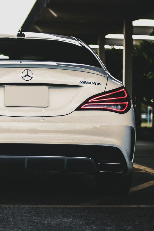 Mercedes-Benz CLA45 AMG - I'm mostly obsessed with the rear lights on this car. Is that normal? LOL