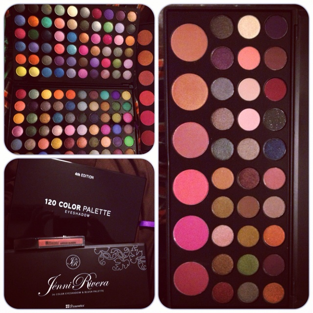 BH cosmetics❤just order the jenni Rivera Bh cosmetics can't wait to try it!!!!❤❤❤