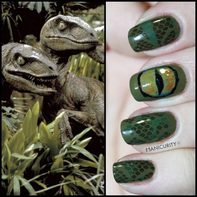 how to make dinosaur nail