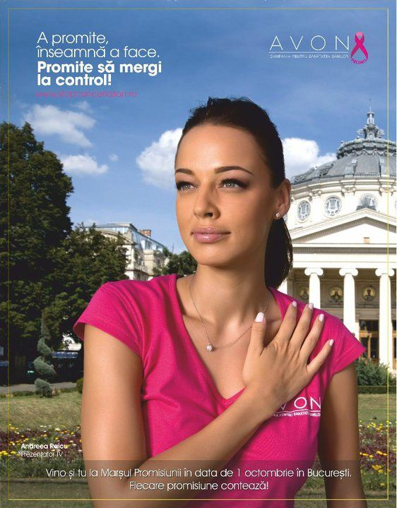 "Andreea Raicu-  Breast Cancer Awarness Campaign ""Promises"""