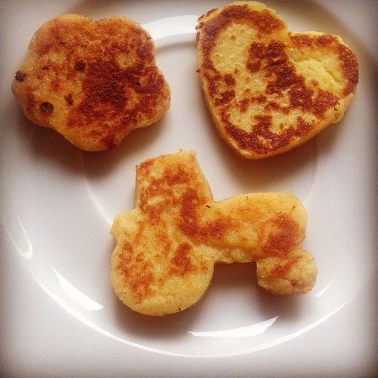 Kartoffelplätzchen für die Kleinen! Der Hit im Kindergarten.