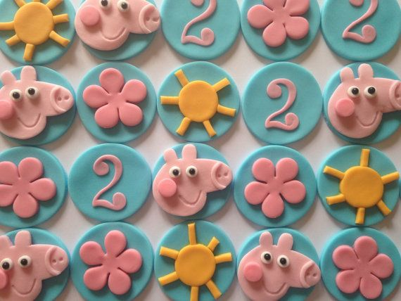How To Make A D Peppa Pig Cake Topper