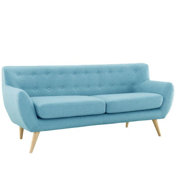 Mid Century Modern Love Seat Living Room Furniture - Assorted Colors - Overstock™ Shopping - Great Deals on Sofas & Loveseats