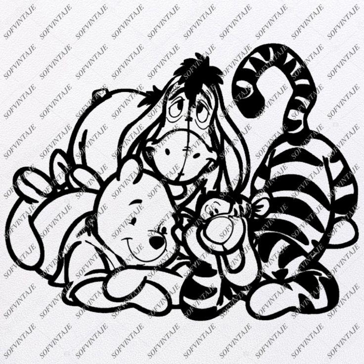 Winnie The Pooh Svg Files Winnie The Pooh Clipart