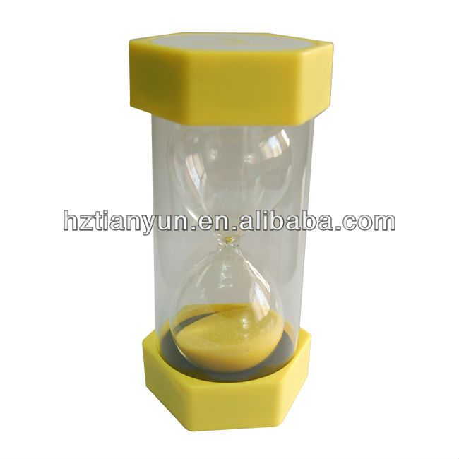 """""""10 minutes plastic sand timer, hourglass sand timer 10 minute"""""""