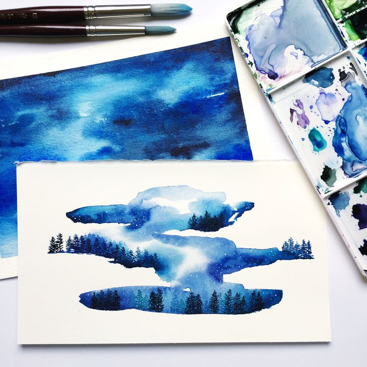 Eventide original watercolour painting now available in my shop! https://www.etsy.com/listing/546779004/eventide-original-watercolour-painting?utm_campaign=crowdfire&utm_content=crowdfire&utm_medium=social&utm_source=pinterest