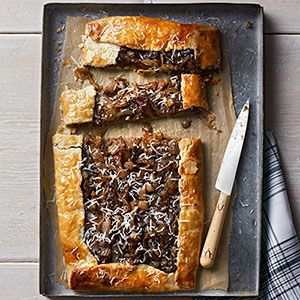 Caramelized-Onion Galette