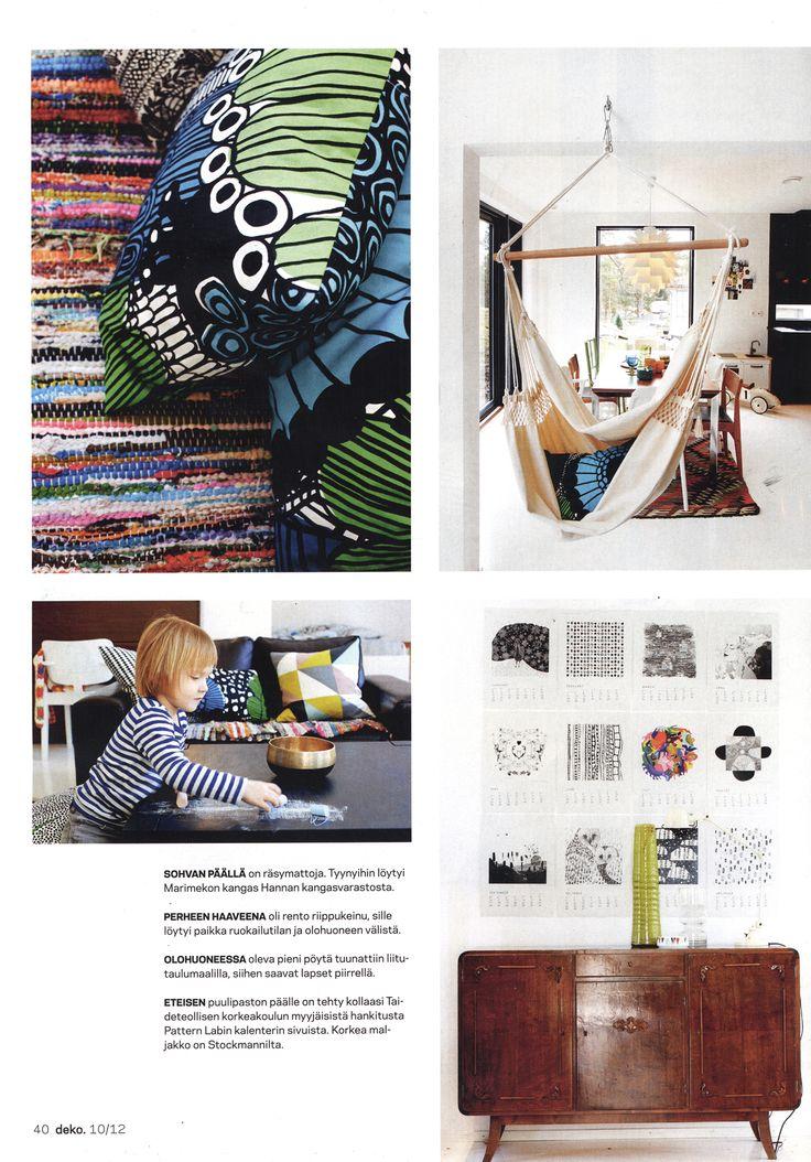 Calendar 12 in DEKO magazine 10/12.