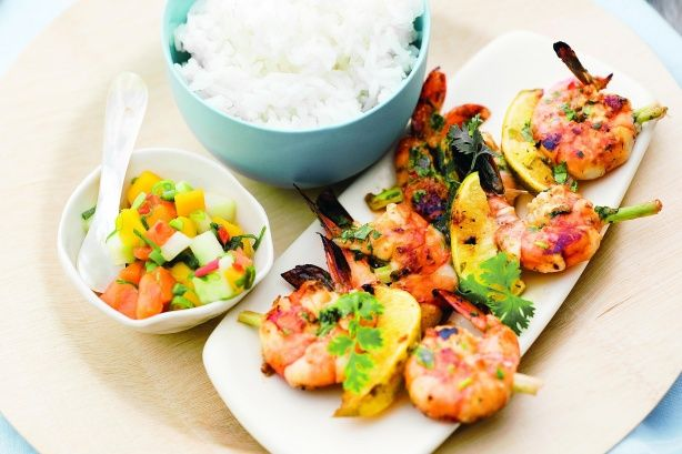 Summer's just a day away so get into the swing of things with these delicious prawns which are just perfect for a relaxed Sunday barbie.