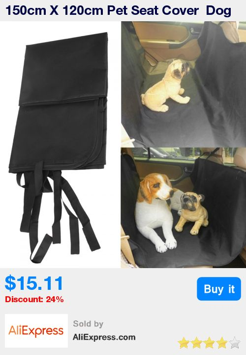 150cm X 120cm Pet Seat Cover  Dog Car Seat Protector Dog Carrier Hammock Black Waterproof  Seat Accessories Products for Pet * Pub Date: 21:15 Jul 5 2017