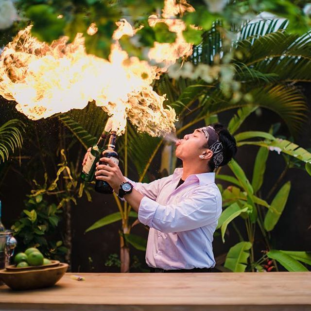 We are beyond excited to have The Last Hurrah Bali on our site!! Their profile launches this week so watch this space...One of Last hurrah's favourite bartenders, Hendra in action.. 📷 @imajgallery