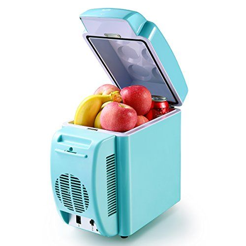 Housmile Thermo - Electric Cooler and Warmer Car Refrigerator Portable Mini Fridge AC & DC, 7 Liter / 12 Can. For product & price info go to:  https://all4hiking.com/products/housmile-thermo-electric-cooler-and-warmer-car-refrigerator-portable-mini-fridge-ac-dc-7-liter-12-can/